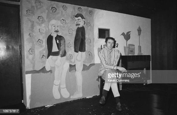 Richard Boon manager of The Buzzcocks watching Ludus perform at the Russell Club in Manchester 19th January 1979