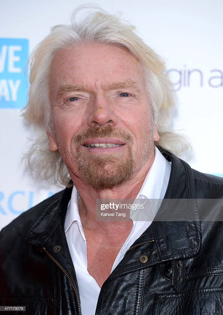 <a gi-track='captionPersonalityLinkClicked' href=/galleries/search?phrase=Richard+Branson&family=editorial&specificpeople=220198 ng-click='$event.stopPropagation()'>Richard Branson</a> attends We Day UK, a charity event to bring young people together at Wembley Arena on March 7, 2014 in London, England.