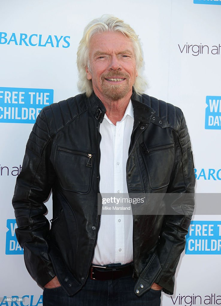 <a gi-track='captionPersonalityLinkClicked' href=/galleries/search?phrase=Richard+Branson&family=editorial&specificpeople=220198 ng-click='$event.stopPropagation()'>Richard Branson</a> attends We Day UK at Wembley Arena on March 5, 2015 in London, England.