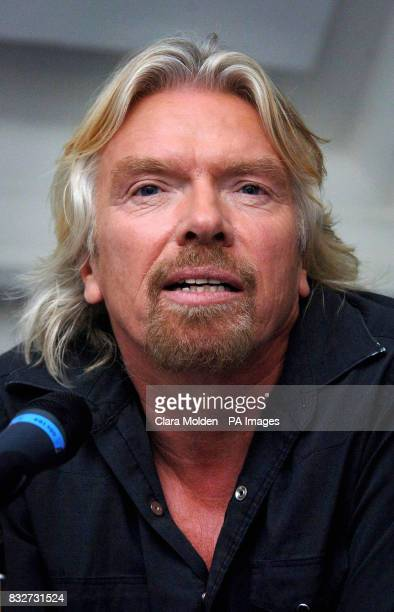 Richard Branson launches Virgin Health Bank the world's first dual private and public umbilical cord blood stem cell banking service at the British...