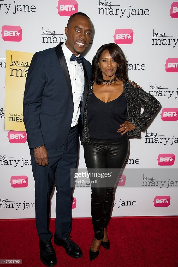 Richard Brooks and Margaret Avery attend BET's New Series 'Being Mary Jane' Los Angeles Premiere on December 16, 2013 in Los Angeles, California.