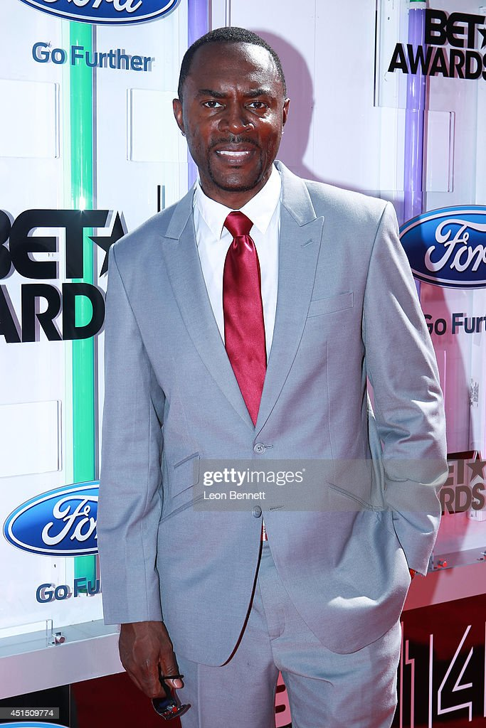 Richard Brooks arrived at the BET & Make A Wish Foundation Recipient Wish To Attend BET Awards Red Carpet Arrivals on June 29, 2014 in Los Angeles, California.