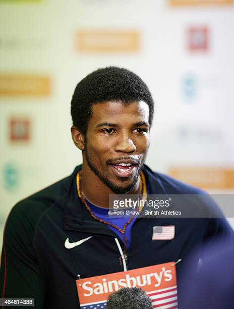 Richard Browne of USA talks to the press during the press conference before the Sainsburys Glasgow International Match at the Crowne Plaza Hotel on...