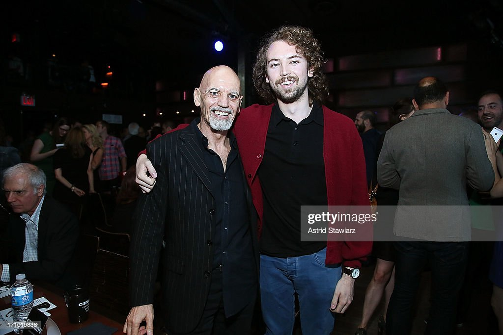 Richard Burgess, Director of Marketing and Sales at Smithsonian Folkways Recordings and singer Ace Elijah attend 2nd Annual Libera Awards at Highline Ballroom on June 20, 2013 in New York City.
