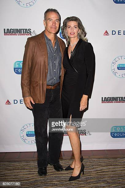 Richard Burgi and Joan Severance attend FestForums at The Fess Parker A Doubletree by Hilton Resort on November 21 2016 in Santa Barbara California