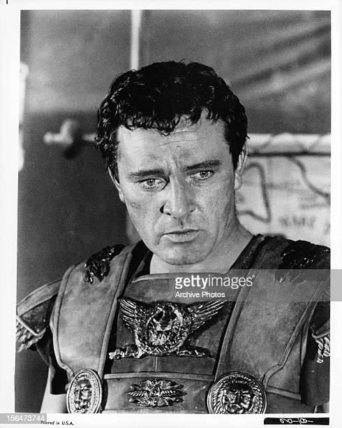 Richard Burton as Mark Antony in a scene from the film 'Cleopatra' 1963
