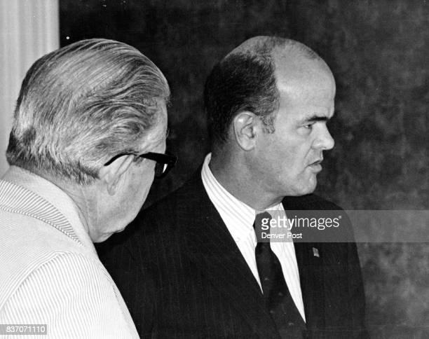 Richard C Van Dusen Undersecretary Of Hud Says Nixon plan would provide flexibility for money Credit Denver Post