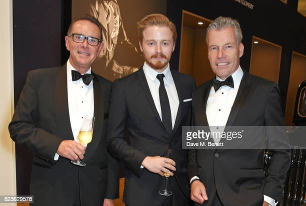 Richard Carter Director of Global Communications at RollsRoyce Motor Cars Jack Lowden and Torsten MullerOtvos Chief Executive RollsRoyce Motor Cars...
