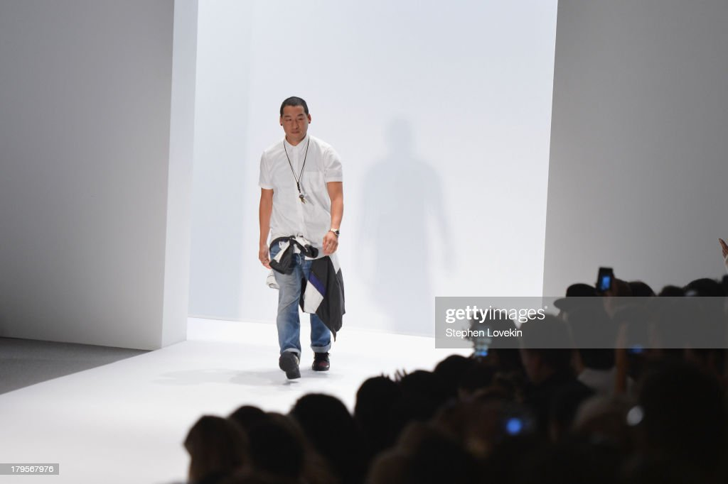 Richard Chai attends the Richard Chai Spring 2014 fashion show during Mercedes-Benz Fashion Week at The Stage at Lincoln Center on September 5, 2013 in New York City.