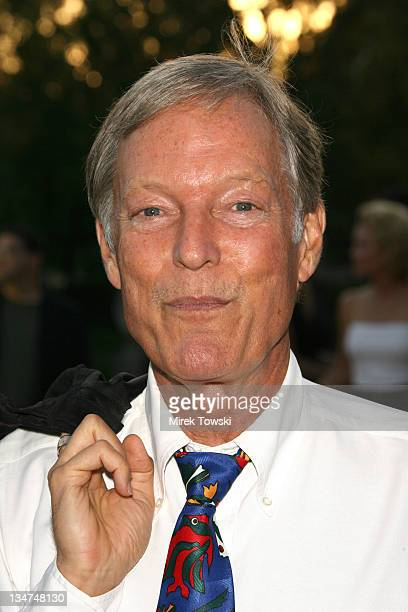 Richard Chamberlain during Season Four premiere of 'Nip/Tuck' Los Angeles Arrivals at Paramount Studios in Hollywood CA United States