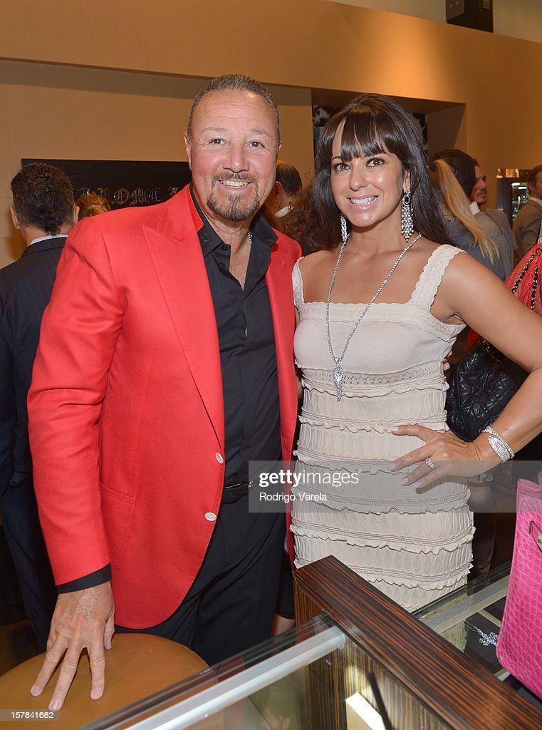 Richard Charlton and Susanne Charlton attend the V.A.U.L.T. Art Basel Party on December 6, 2012 in Miami, Florida.