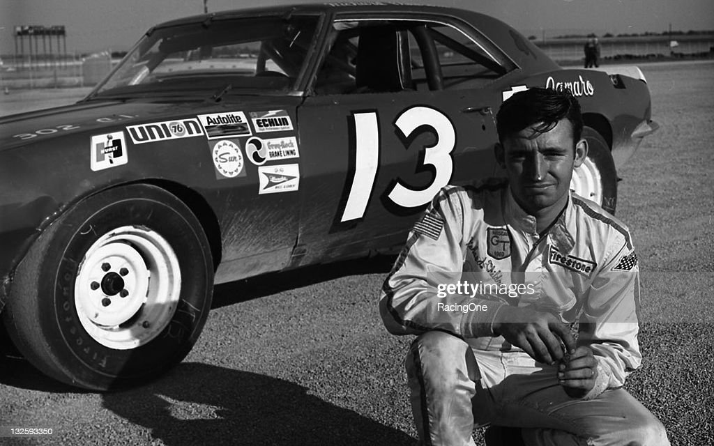 Richard Childress ran this 1968 Chevrolet Camaro in the first race ever held at Talladega Superspeedway the Bama 400 for NASCAR Grand Touring cars...