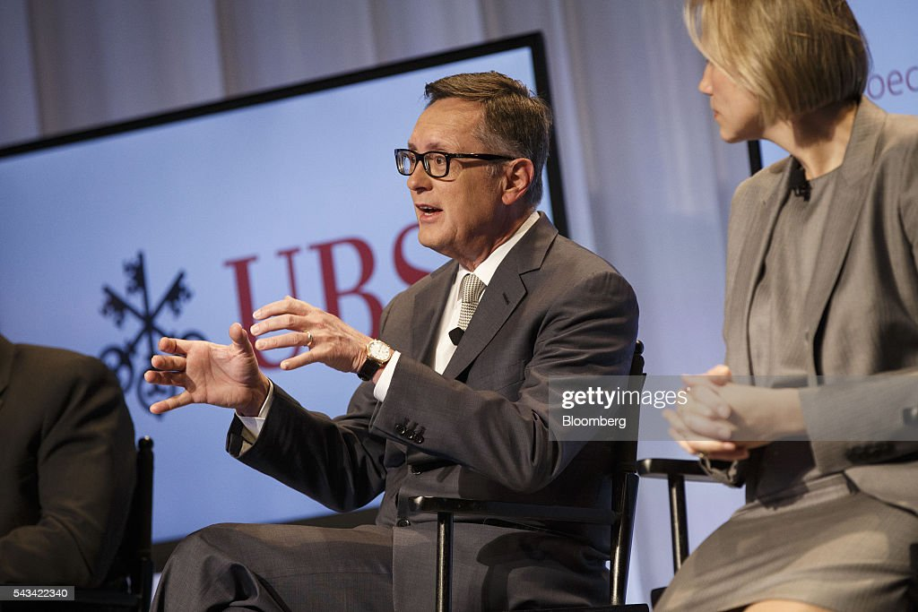 Richard Clarida, global strategic advisor and managing director of Pacific Investment Management Co. (PIMCO), speaks during the UBS CIO Global Forum at the Beverly Wilshire Hotel in Beverly Hills, California, U.S., on Tuesday, June 28, 2016. The forum are sources experts from all regions of the world to address regional issues affecting global markets. Photographer: Patrick T. Fallon/Bloomberg via Getty Images