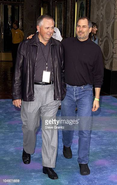 Richard Cook Steve Jobs during Monsters Inc Premiere at El Capitan Theatre in Hollywood California United States