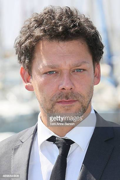 Richard Coyle attends AD The Bible Continues photocall as part of MIPTV 2015 on April 14 2015 in Cannes France