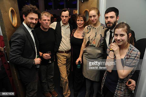 Richard Coyle Mark Haddon Paul Hilton Celia Imrie Jodhi May David Leon and Skye Bennett attend the afterparty of Opening Night Polar Bears at the...
