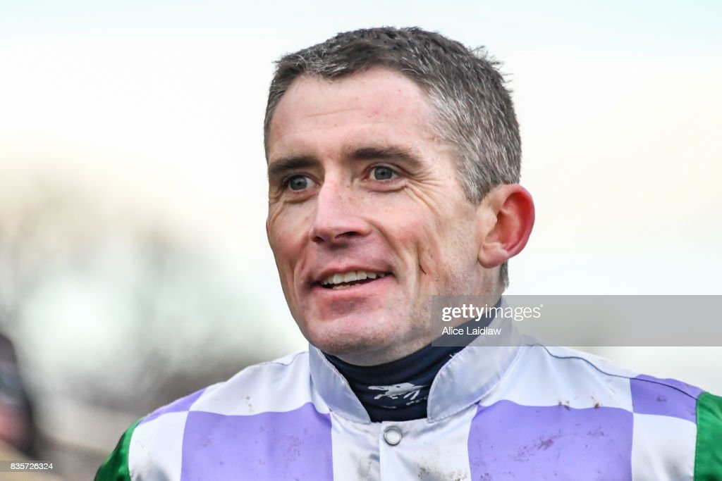 Richard Cully after winning the E-Cycle Solutions Grand National Steeplechase at Sportsbet-Ballarat Racecourse on August 20, 2017 in Ballarat, Australia.