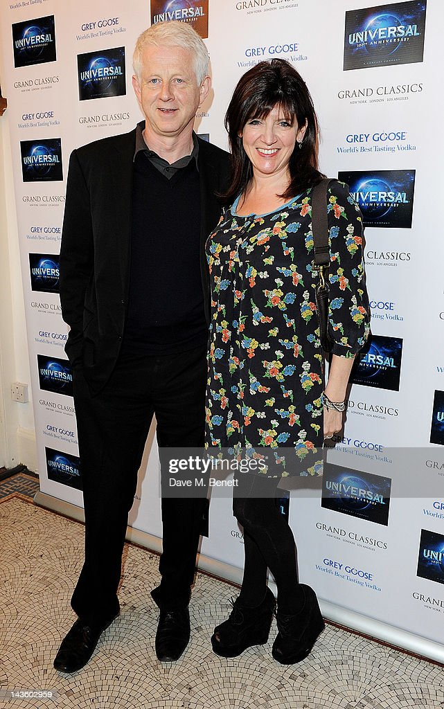 Richard Curtis and Emma Freud attend as Grand Classics Richard Curtis and Grey Goose celebrate 100 years of Universal Pictures' greatest films with a...