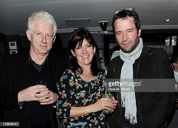 Richard Curtis Emma Freud and James Purefoy attend as Grand Classics Richard Curtis and Grey Goose celebrate 100 years of Universal Pictures'...