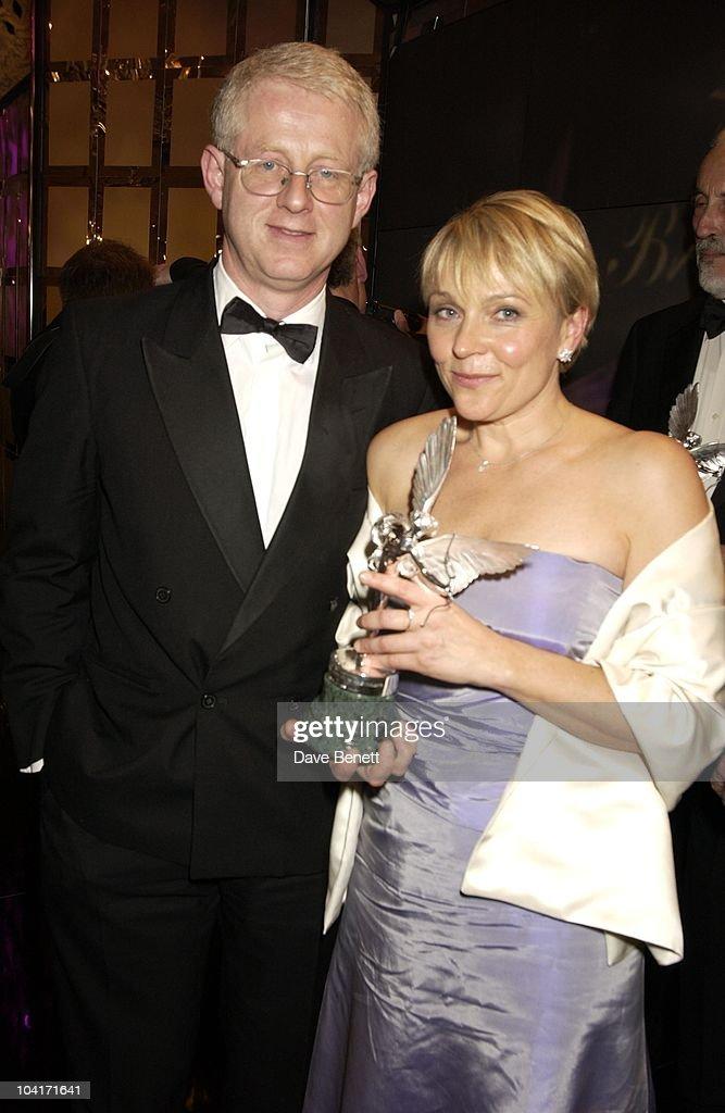 Richard Curtis & Helen Feilding, Evening Standard Film Awards, At The Savoy Hotel, London