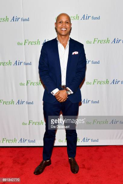 Richard D Thomas attends the 2017 Fresh Air Fund Spring Benefit at Pier Sixty at Chelsea Piers on June 1 2017 in New York City