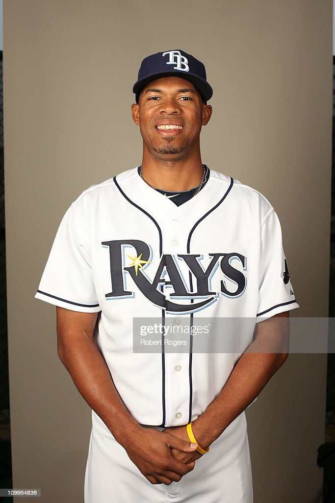 Richard De Los Santos of the Tampa Bay Rays poses during Photo Day on Tuesday February 22 2011 at Charlotte Sports Park in Port Charlotte Florida