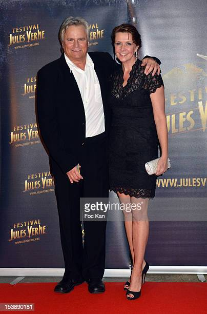 Richard Dean Anderson and Amanda Tapping attend the Jules Vernes Awards 20th Anniversay Ceremony 'Tribute To Richard Dean Anderson' at the Grand Rex...