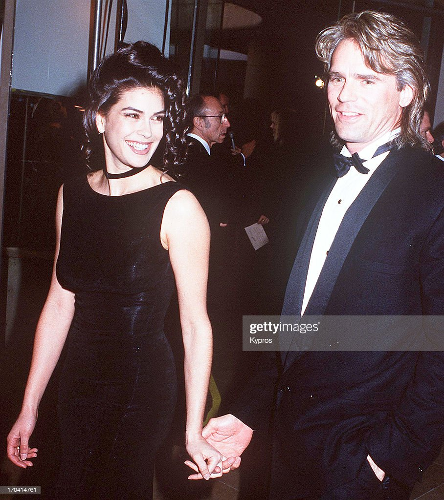 <a gi-track='captionPersonalityLinkClicked' href=/galleries/search?phrase=Richard+Dean+Anderson+-+Actor&family=editorial&specificpeople=5221192 ng-click='$event.stopPropagation()'>Richard Dean Anderson</a> with actress <a gi-track='captionPersonalityLinkClicked' href=/galleries/search?phrase=Teri+Hatcher&family=editorial&specificpeople=202145 ng-click='$event.stopPropagation()'>Teri Hatcher</a> at the 50th Annual Golden Globe Awards, USA, 23rd January 1993.