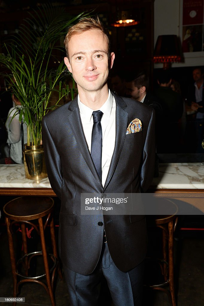 Richard Dempsey attends the afterparty for Midsummer Nights Dream at The National Gallery on September 17, 2013 in London, England.