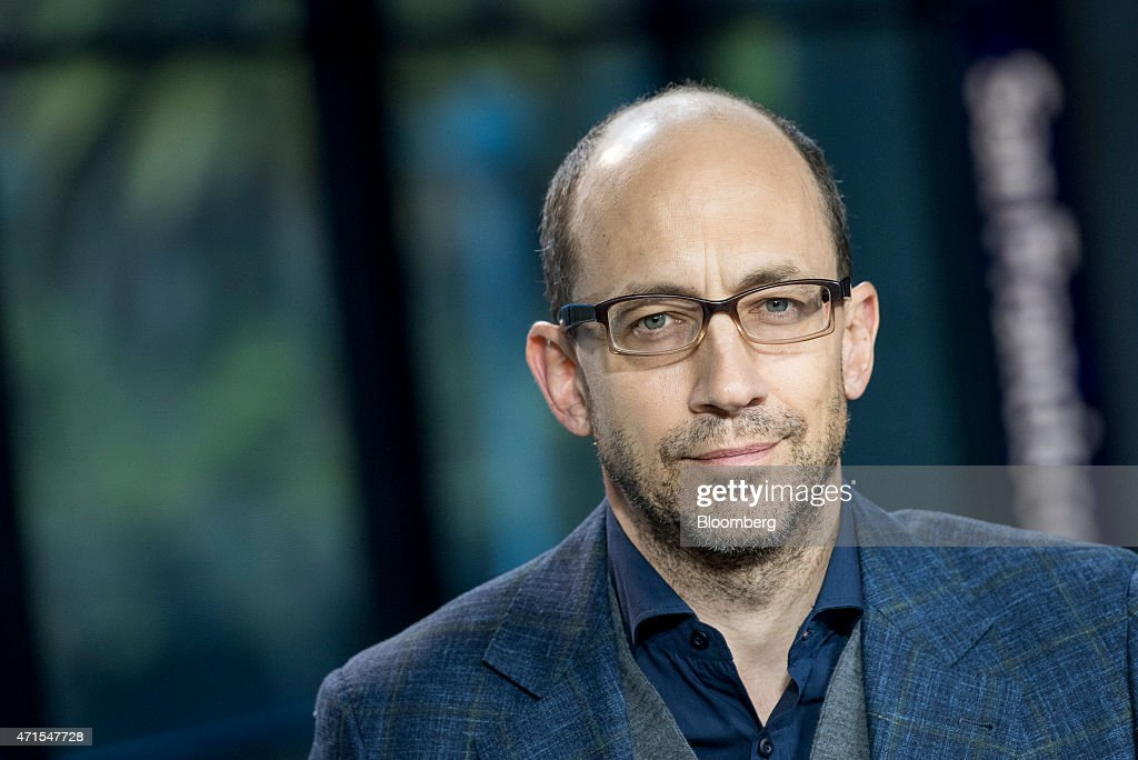 Richard 'Dick' Costolo chief executive officer of Twitter Inc listens during a Bloomberg Television interview in San Francisco California US on...