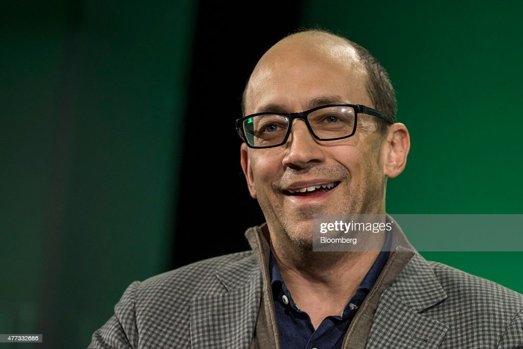 Richard 'Dick' Costolo departing chief executive officer of Twitter Inc speaks during the 2015 Bloomberg Technology Conference in San Francisco...