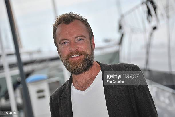 Richard Dormer attends the Fortitude 2 photocall during MIPCOM 2016 at Palais des Festivals on October 17 2016 in Cannes France