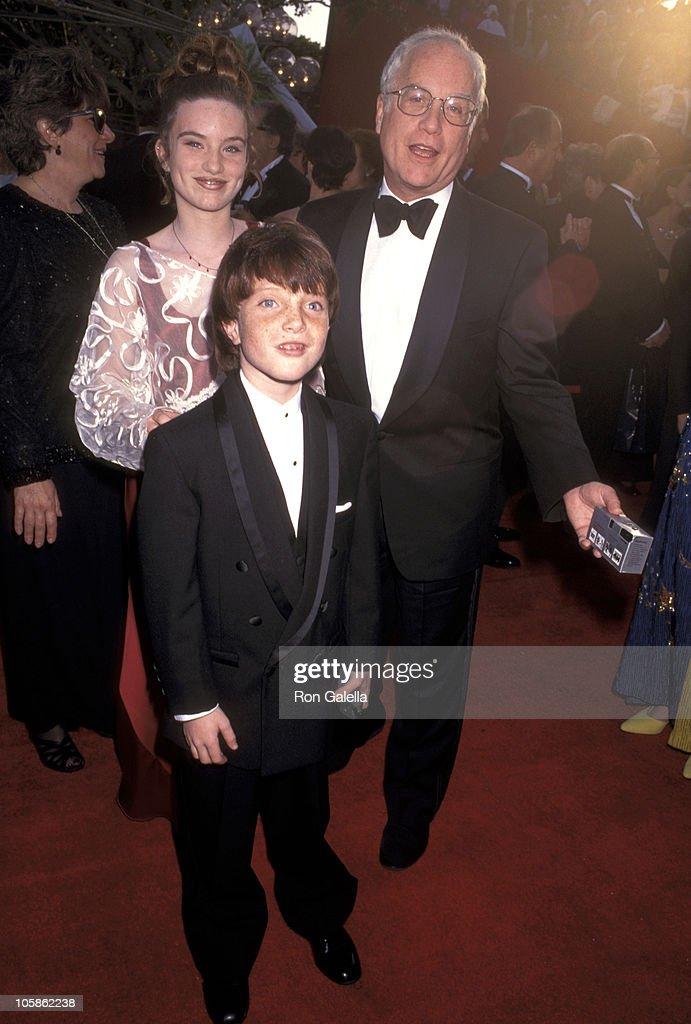 Richard Dreyfuss and Daughter Emily Dreyfuss and Son Benjamin Dreyfuss
