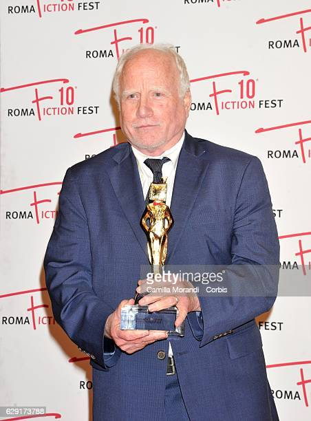 Richard Dreyfuss attends a red carpet for the Fiction Fest Award on December 11 2016 in Rome Italy