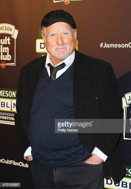 Richard Dreyfuss attends a screening of 'Jaws' the Cult Film Club screening at the Jameson Dublin International Film Festival at the Mansion House on...