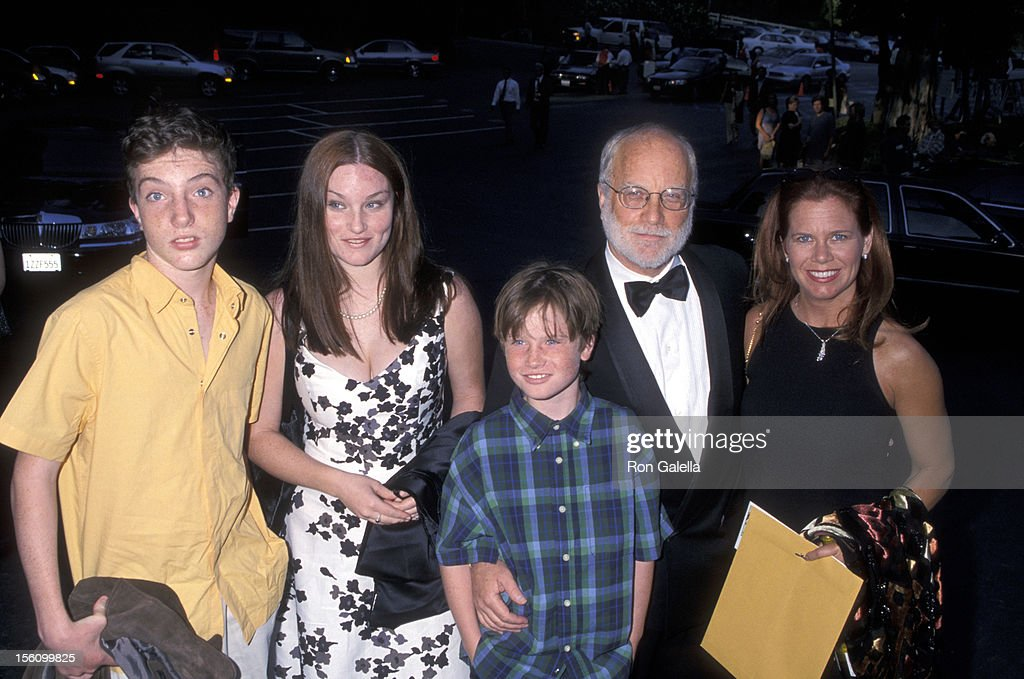 <a gi-track='captionPersonalityLinkClicked' href=/galleries/search?phrase=Richard+Dreyfuss&family=editorial&specificpeople=216584 ng-click='$event.stopPropagation()'>Richard Dreyfuss</a>, Janelle Lacey, His Daughter Emily Dreyfuss and Son Benjamin Dreyfuss and Harry Dreyfuss