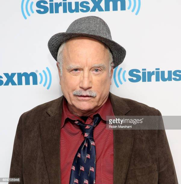 Richard Dreyfuss visits at SiriusXM Studios on March 28 2017 in New York City