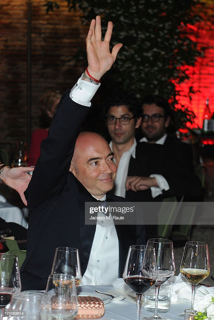 Richard Dunn attends Cash & Rocket On Tour Women for Women - Gala Dinner and Auction on June 16, 2013 in Rome, Italy.