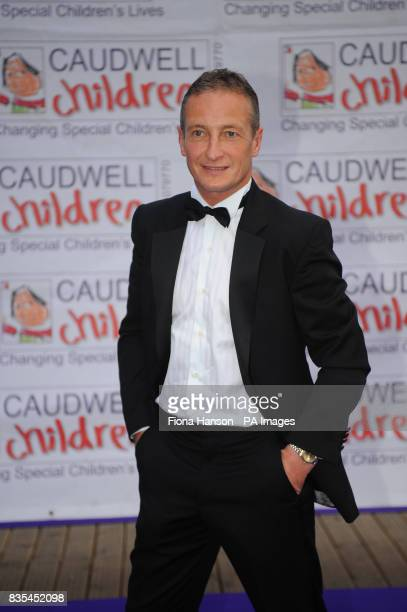 Richard Dunwoody arrives for the Butterfly Ball in Battersea Park London The event by Caudwell Children aims to raise funds for disabled children