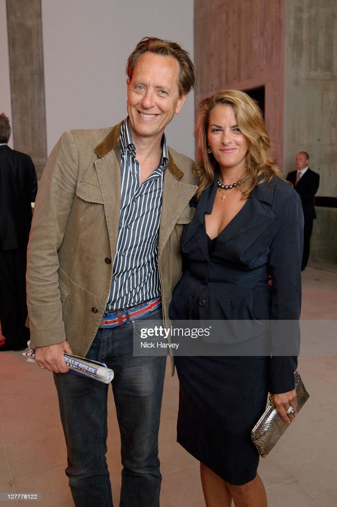 Richard E Grant and Tracey Emin attend the Special Preview to the exhibition Love is What You Want by Tracey Emin at the Hayward Gallery on May 16...