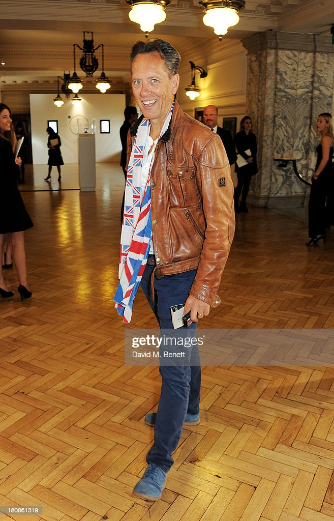Richard E. Grant attends the Anya Hindmarch presentation during London Fashion Week SS14 at Central Hall Westminster on September 17, 2013 in London, England.