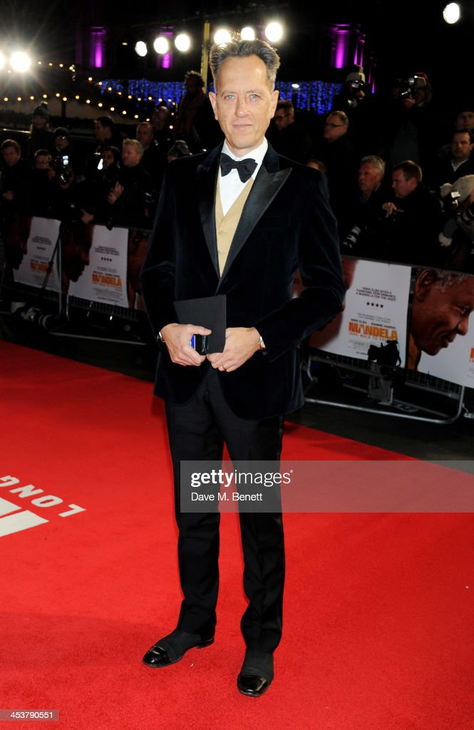 <a gi-track='captionPersonalityLinkClicked' href=/galleries/search?phrase=Richard+E.+Grant&family=editorial&specificpeople=160448 ng-click='$event.stopPropagation()'>Richard E. Grant</a> attends the Royal Film Performance of 'Mandela: Long Walk to Freedom' at Odeon Leicester Square on December 5, 2013 in London, United Kingdom.