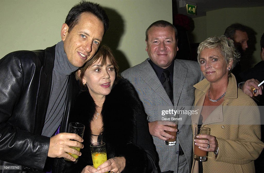 Richard E Grant & Ray Winstone, Charity Auction For Signed Photos For Twin Towers Fund, At The Royal Academy Of Arts, Piccadilly, London
