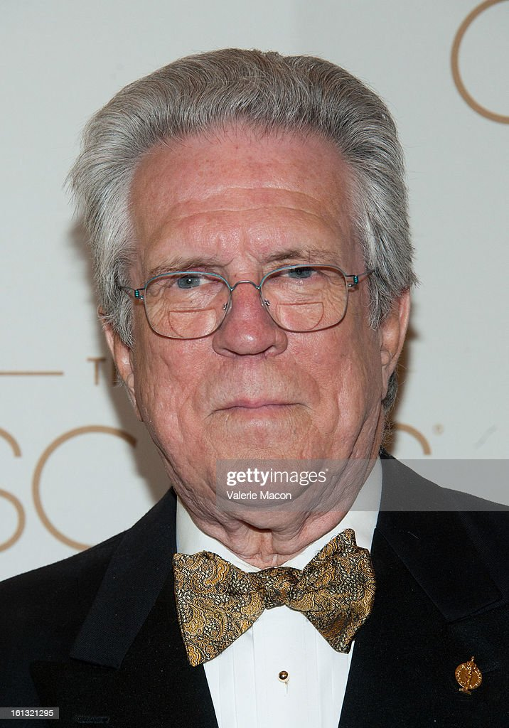 Richard Edlund arrives at the Academy Of Motion Picture Arts And Sciences' Scientific & Technical Awards at Beverly Hills Hotel on February 9, 2013 in Beverly Hills, California.