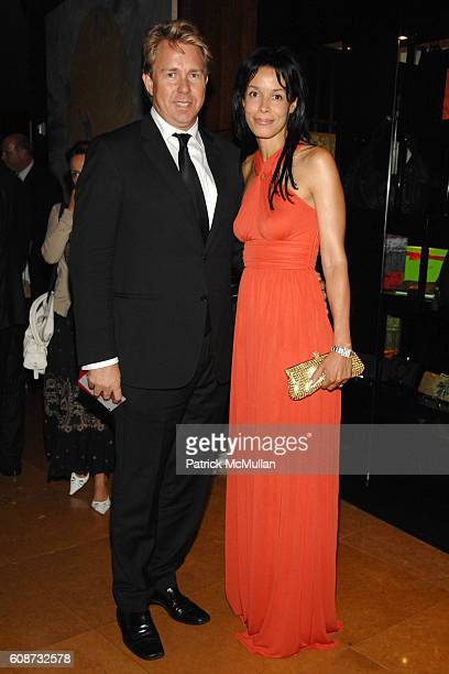 Richard Evans and Kim Heirston Evans attend MANDARIN ORIENTAL HOTEL GROUP Party for the SOTHEBY'S Contemporary Asian Art Exhibition at The Mandarin...