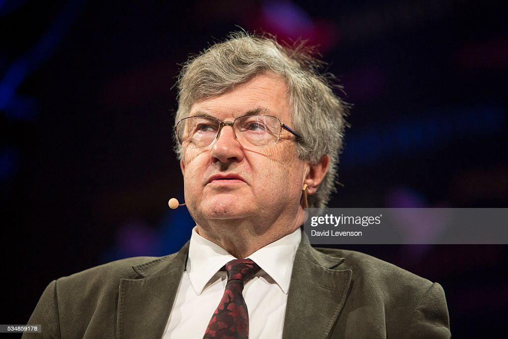 Richard Evans, historian and author of 'The Third Reich in History and Memory', at the Hay Festival, on May 28, 2016 in Hay-on-Wye, Wales.