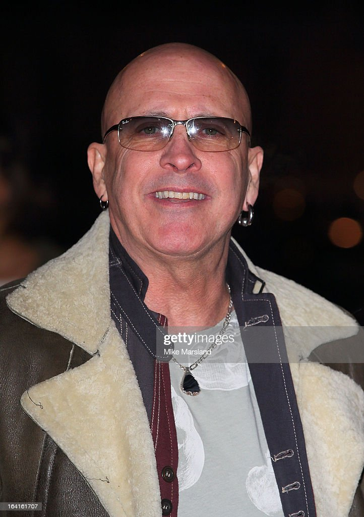 Richard Fairbrass attends the private view of 'David Bowie Is' at Victoria & Albert Museum on March 20, 2013 in London, England.