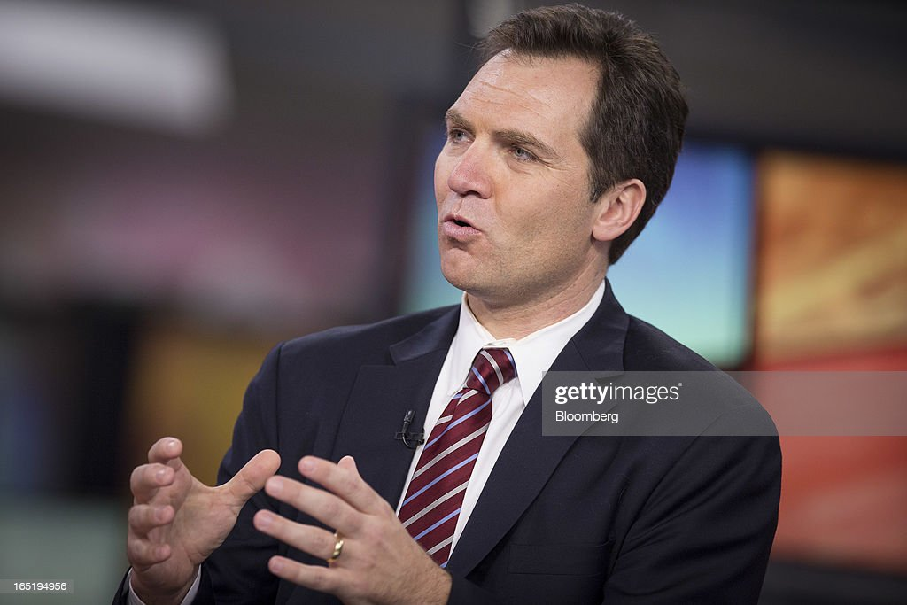 Richard Falkenrath, a principal at Chertoff Group, speaks during an interview in New York, U.S., on Monday, April 1, 2013. Falkenrath discussed the mounting tension in the Korean peninsula and North Korea's nuclear capabilities. Photographer: Scott Eells/Bloomberg via Getty Images
