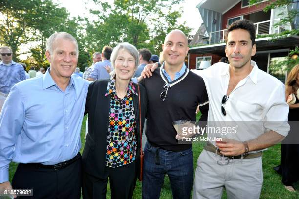 Richard Feldman Rita Sherr Mark Moskowitz and Yuval Hadadi attend GODS LOVE WE DELIVERMid Summer Night Drinks Benefit at Home of Chad A Leat on June...