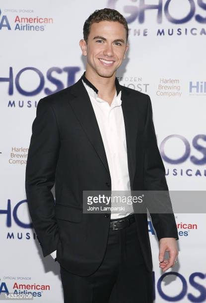 Richard Fleeshman attends the after party for the Broadway opening night of 'Ghost The Musical' at Tunnel on April 23 2012 in New York City